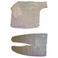 Куртка и брюки полипропиленовые одноразовые