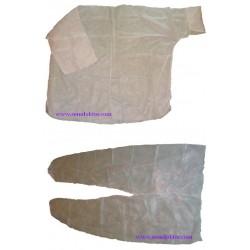Куртка и брюки для прессотерапии одноразовые