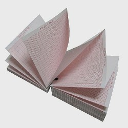 Бумага для ЭКГ 90мм*90мм*400 листов